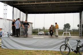 Mobile Bühne - Töster Kreis