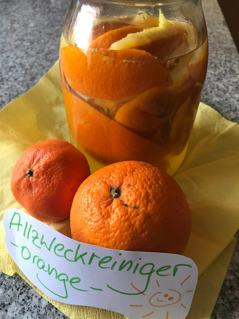 Allzweckreiniger Orange